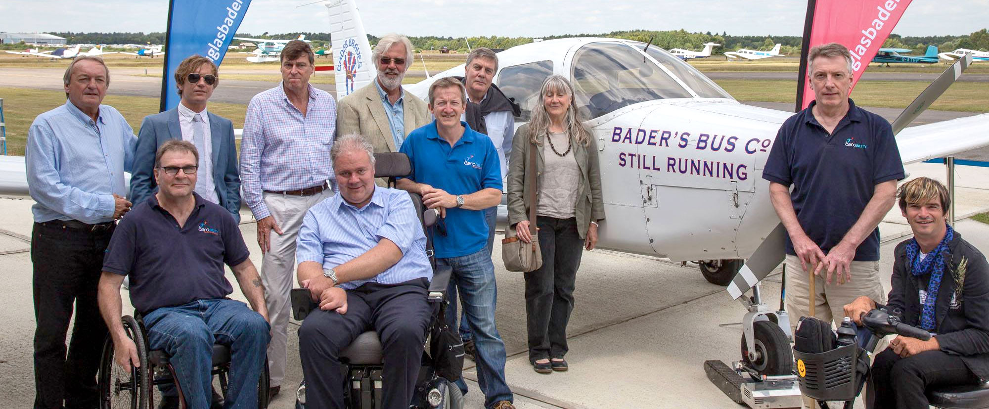 Douglas Bader foundation join in