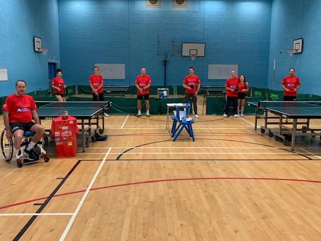 Simon Heaps Table Tennis Marathon